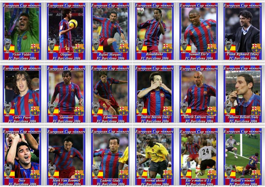 nikolaitradingcards - Football - Barcelona