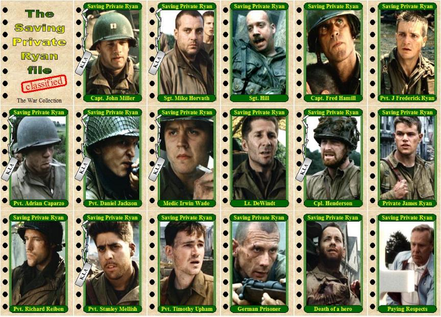 Movies - War Matt Damon Movies List